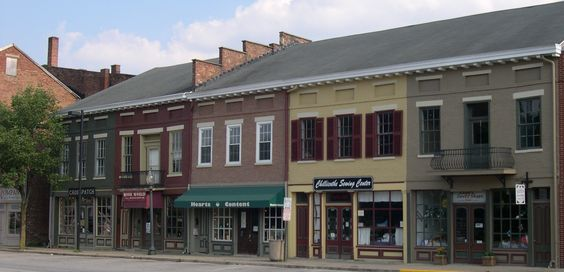 Shops along Water Street in Downtown #Chillicothe #Ohio