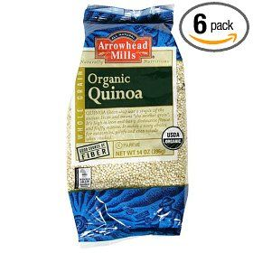 Arrowhead Mills Quinoa, 14-Ounce Packages (Pack of 6) $29.40