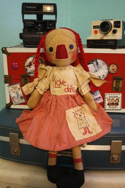 Raggedy Ann #doll