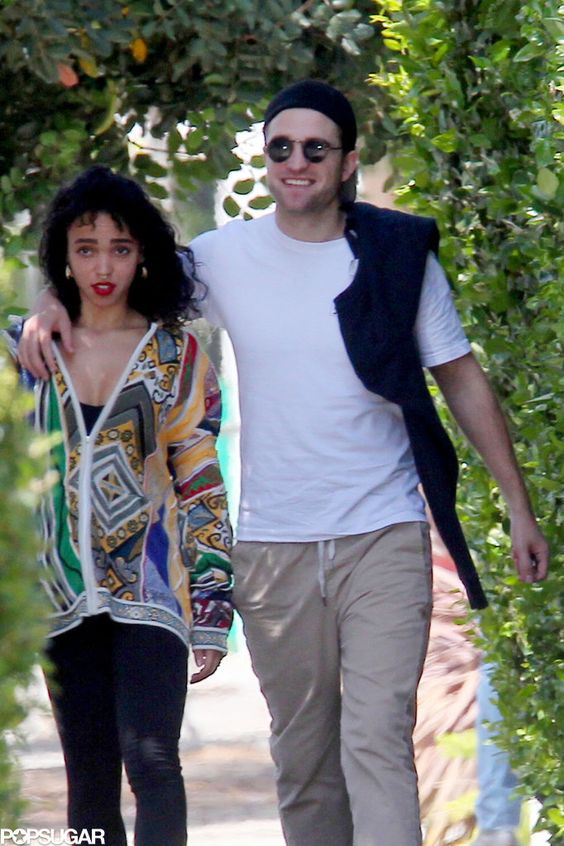 the cutest pictures of robert pattinson and fka twigs