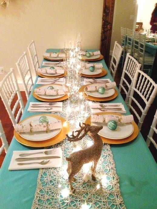 White Gold Teal White And Gold Elegant Christmas Colors Christmas Table Decorations Gold Christmas Decorations Blue Christmas