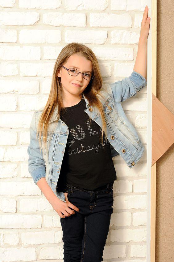 Visuel LuluCastagnette Enfant - Collection de lunette Opal