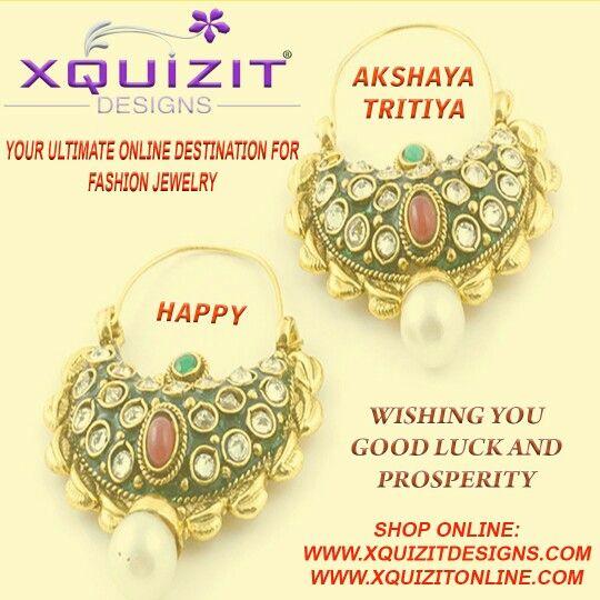 #XQUIZIT #DESIGNS #wishes all a very #Happy #Akshaya #Tritiya
