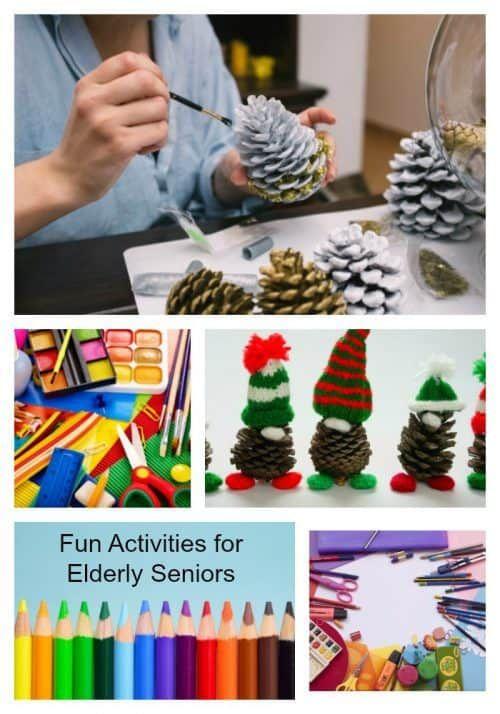 Fun Activities For Elderly Seniors Pinterest Elderly Activities