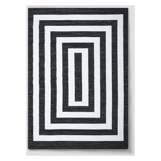 Mitre Stripe Outdoor Rug Project 62 With Images Mitered