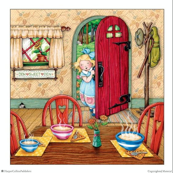 Goldilocks and the Three Bears - Mary Engelbreit's Nursery Tales: A Treasury of Children's Classics