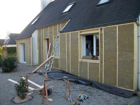 Bardage Isolation Exterieur Fassade Haus Haus Umbau Haus Bauen
