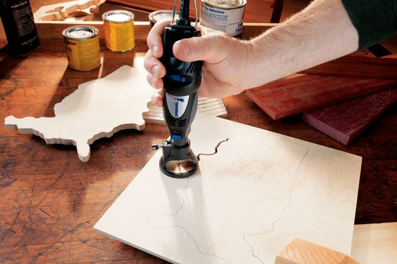 rotary tool projects   The CKDR-01 three-tool combo kit includes everything you'll need to ...