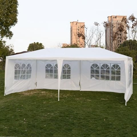 10 X20 Party Wedding Outdoor Patio Tent Canopy Heavy Duty Gazebo Pavilion Event Patio Tents Outdoor Awnings Canopy Outdoor