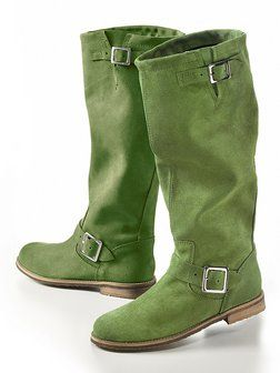 Great green boots