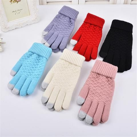KIDS BOYS GIRLS GLOVES SUEDE WINTER WARM SOFT CUTE BABY MITTENS GIFT SMART