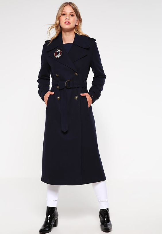 Tommy Hilfiger GIGI HADID Manteau classique blue prix Manteau Femme Zalando 399.00 €