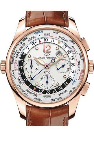 Girard Perregaux ww.tc Financial Rose Gold Chronograph 49805-52-151ABACA