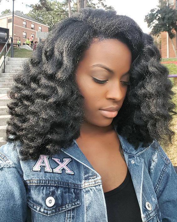Bien Faire Son Prepoo Est La Cle D Une Bonne Routine Capillaire Bien Bonne Capillaire Cle Dune Es Blowout Hair Natural Hair Blowout Natural Hair Styles