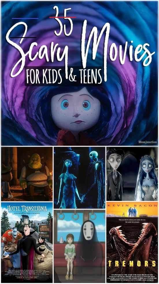 35 Best Scary Movies For Kids And Teens Moviestowatch Searching For Some Fun Scary Movies For Kids And T Halloween Film Halloween Filme Kinder Sommer Film