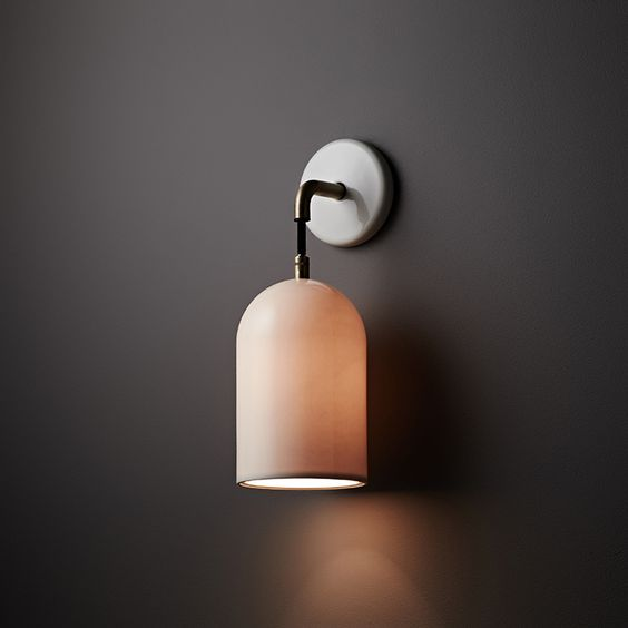 Cloche Wall, Small – Porcelain Bear