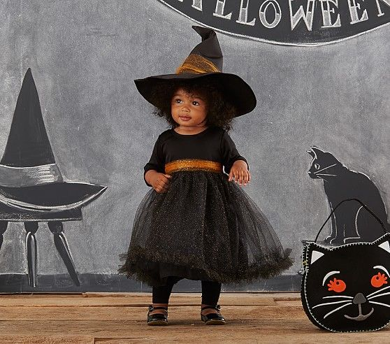 Baby Witch Tutu Costume