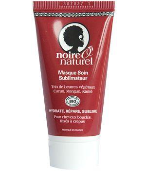 noire o naturel masque soin sublimateur cacao mangue karit cheveux friss crpus 30 ml - Soin Naturel Cheveux Colors