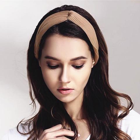 Korean Style Summer Lovely Hairband Women Hair Accessories Turban Twis Lilogal Hair Accessories For Women Hair Accessories Twist Headband