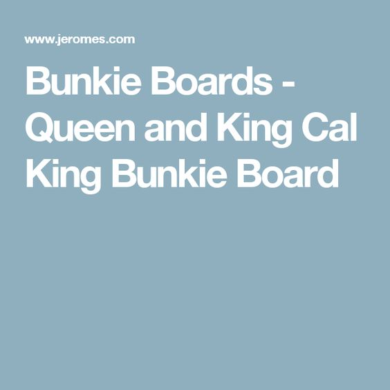 bunkie boards queen and king cal king bunkie board