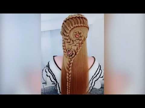 Tik Tok Hairstyles Tiktok Hairstyle Tutorial Diy Braids Quick Nail Designs Hair Tutorial