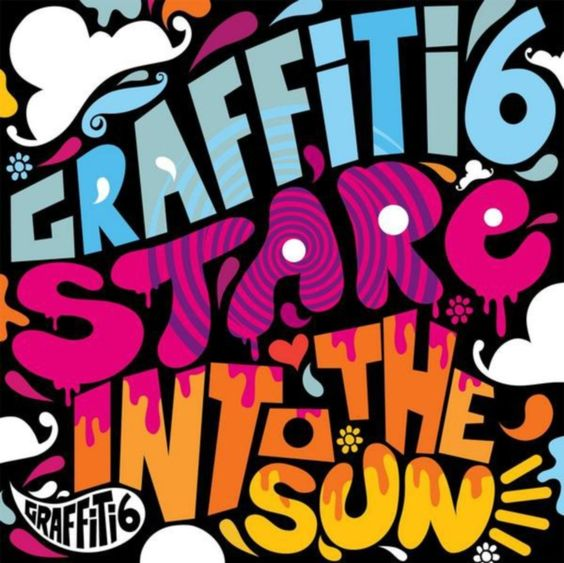 Graffiti6 - Stare Into The Sun, CD cover