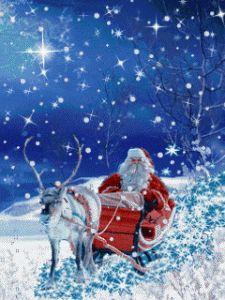 Fond écran animé pour mobile gratuit - Santa Claus