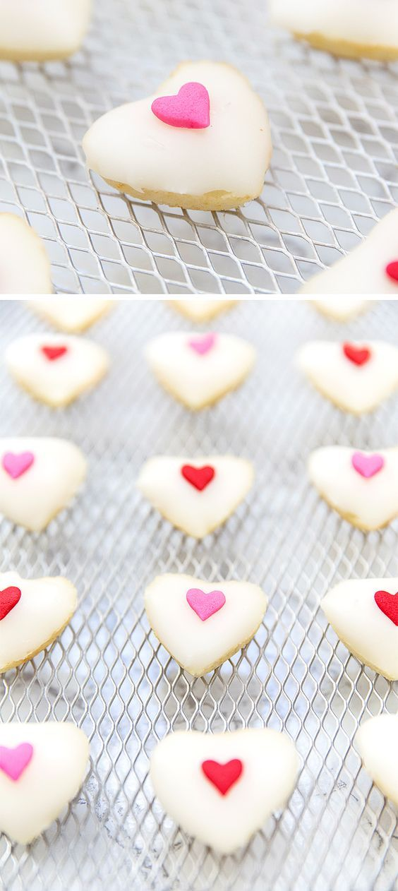 Valentine's Day Sweet Heart Petit Fours