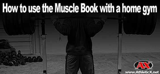 Some of the Muscle Book users have asked questions about how to use the program with a home gym.  Well, you've got problems and we provide solutions.  Check out this video of the Muscle Book Home Gym Edition (Leg Day).  You won't be able to use all exercises prescribed in the program, but here are some really good leg workout with a simple home gym.