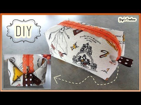 El Neceser Mas Fácil Del Mundo Now With English Subtitles Yuyi S Creations Youtube Diy Purse Sewing Crafts Bags