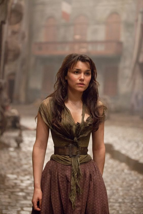 Photo from Les Miserables. She was one of my fav characters: