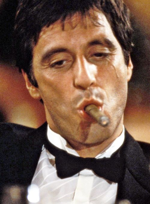 Al pacino montana and fish on pinterest for Occhiali al pacino scarface