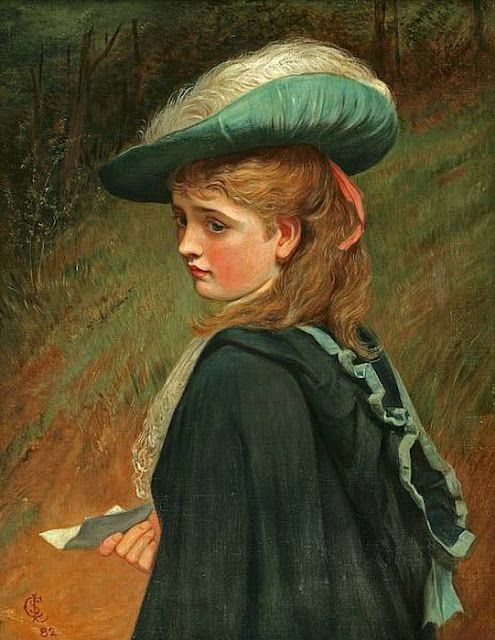 Charles Silem Lidderdale : The Feather Hat