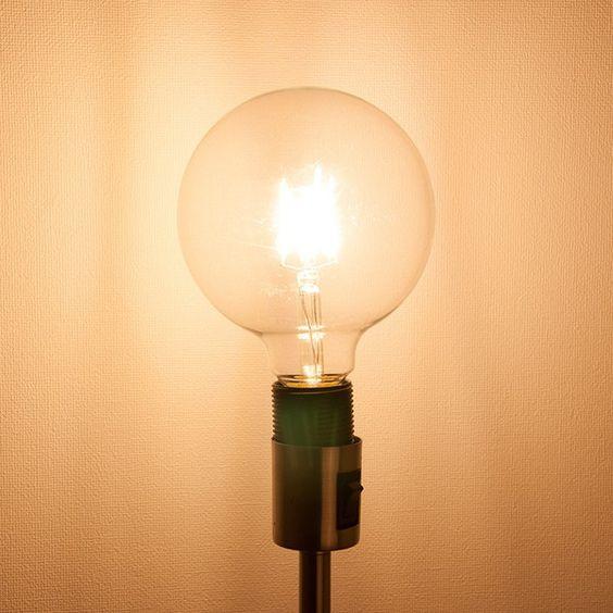 LEDクリア電球 80W相当 ボール125 エジソンランプ 口金E26 レ :GT-B-D8W-G125E26:共同照明 - 通販 - Yahoo!ショッピング