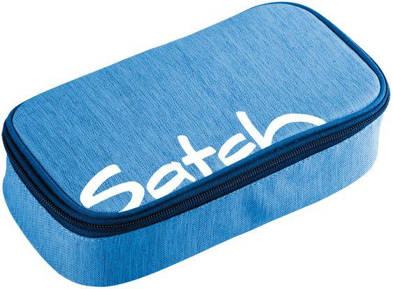Satch by Ergobag Faulenzermäppchen Schlamperbox Blau