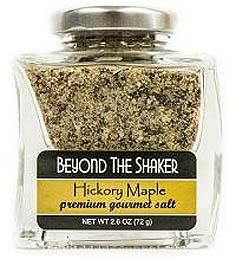 Hickory Maple Blend Gourmet Sea Salt, Beyond the Shaker: This unique blend of maple sugar, vanilla, unrefined salts, garlic and pepper is hard to find.