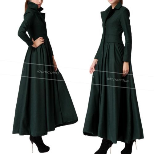 Full Length Dress Coat - Sm Coats