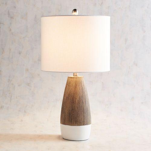 Janis 2 Tone Table Lamp Table Lamp Bedroom Lamps Modern Lamp