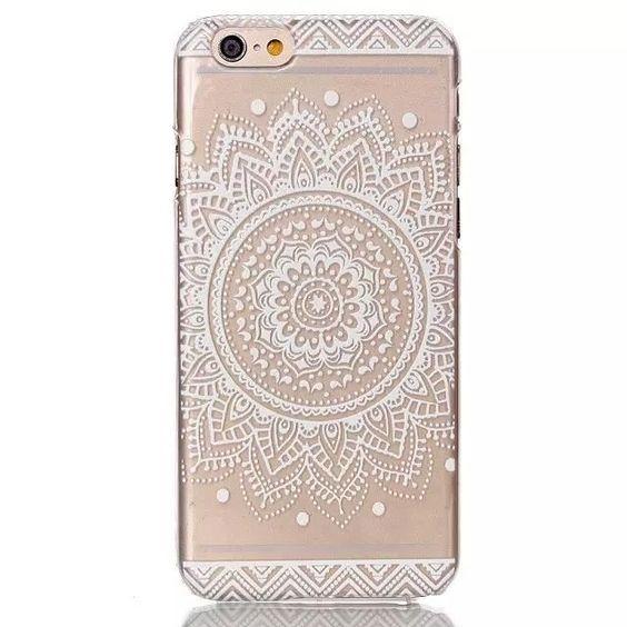 VG® Apple iPhone 6 4.7 Pouces Mandala Coque Silicone Gel TPU