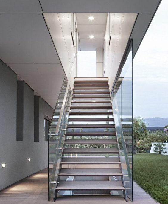 Moderne stahltreppen außen   eine gute idee?   architektur