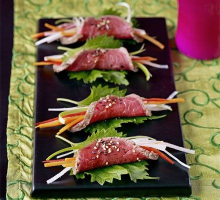 Best wedding canap ideas wedding canapes wedding and parma for Asian canape ideas