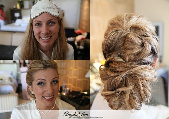 THE LONDON WEST HOLLYWOOD WEDDING – BRIDE MAKEUP ARTIST AND HAIR STYLIST >> ANGELA TAM | BRIDE BROOKE MAKEUP SESSION