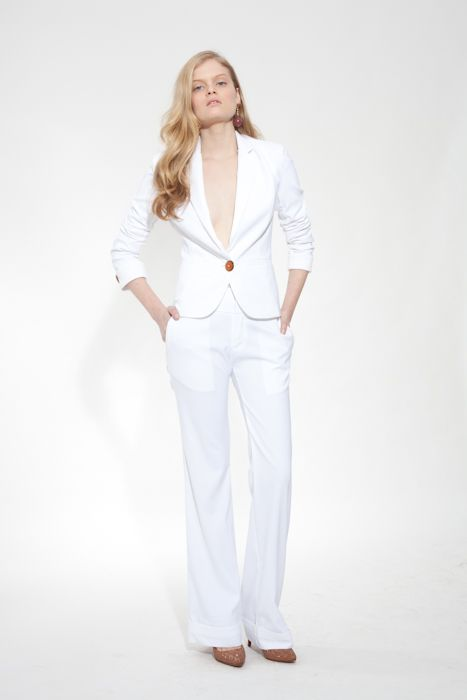 I SERIOUSLY need a great fitting white suit!