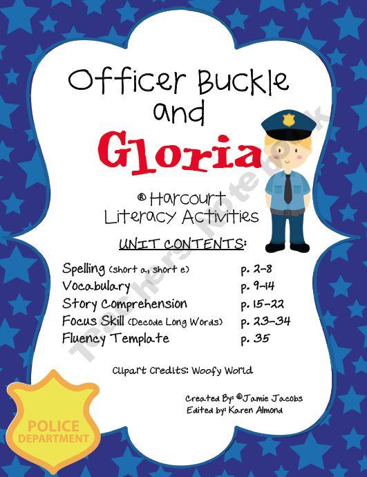 Officer Buckle Gloria Harcourt Prek 8th Grade