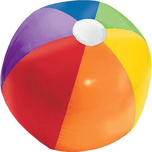 Rainbow Beach Ball Party City Beach Ball Party Beach Ball