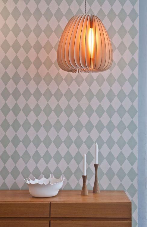 Holz Pendelleuchte Designpendelleuchte Volum Von Schneid Mit Bildern Pendelleuchte Lampen Aus Holz Lampen