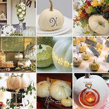 October Wedding Ideas