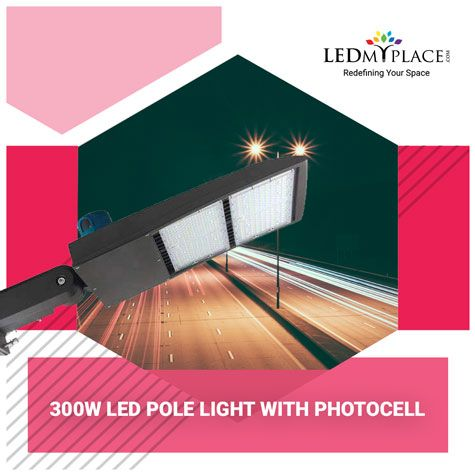 Use Best Quality 300w Led Pole Light For Street Lighting Led Parking Lot Lights Street Light Outdoor Light Fixtures
