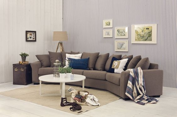 Sofa - liker fasongen Ideer til hytta Pinterest - designer couch modelle komfort
