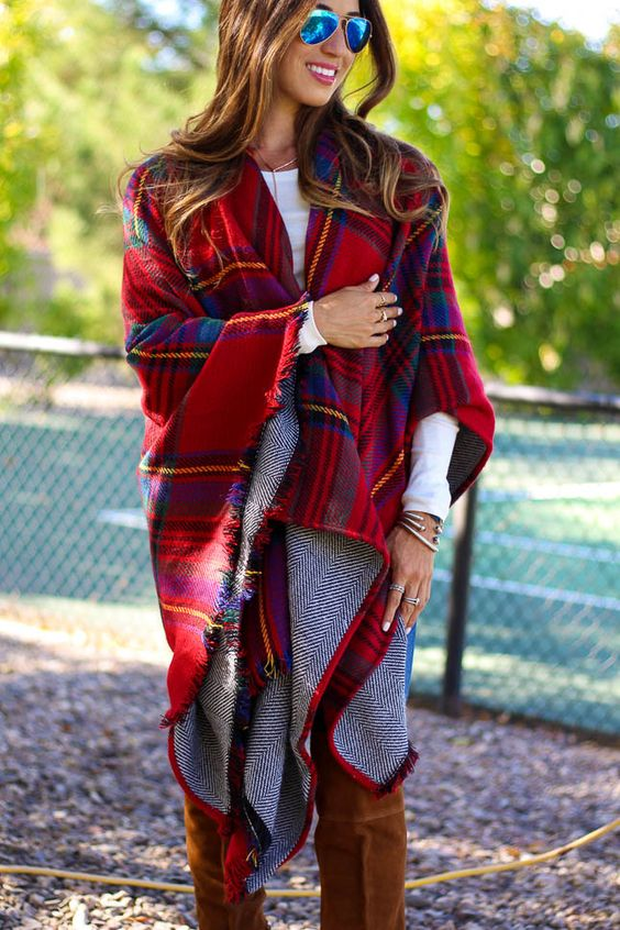 Affordable Flanel Plaid Outfits